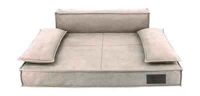 Premium Sofa Pet Bed Oatmeal | Daniel's Pet Emporium