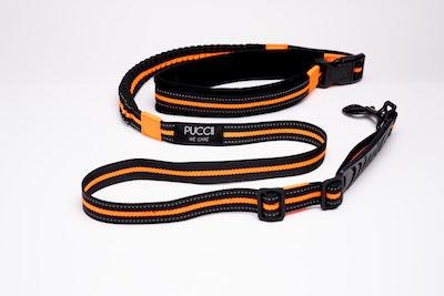 Puccii Lead ORANGE (M-L dogs)