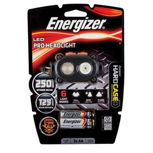 Energizer Batteries Torch Head Lamp PRO LED
