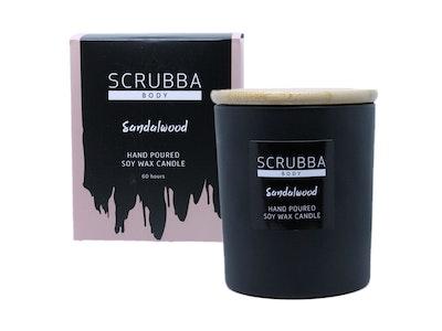 Sandalwood Natural Soy Candle
