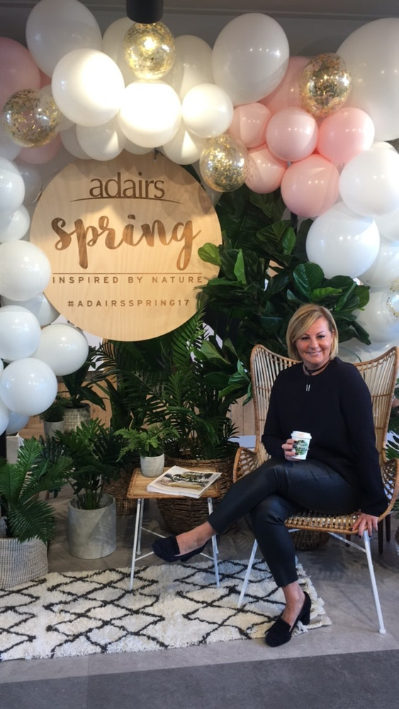 LENZO Styling Adairs Spring Collection launch Chyka