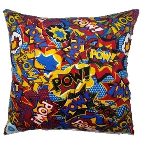 Cushion Covers: Pow!