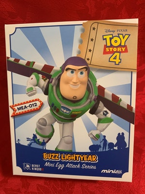 Buzz Lightyear Mini Egg Attack Toy Story 4 Disney Pixar - New in Box