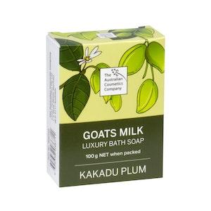 The Australian Cosmetics Company Goats Milk Bath Soap Kakadu Plum 100g Boxed