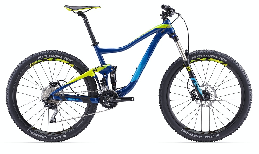 Giant Trance 3 Deep Blue BikeExchange 2017