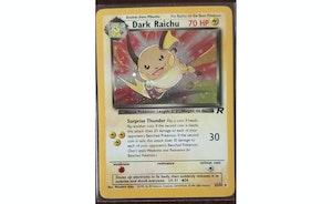 Pokemon TCG Team Rocket Dark Raichu Holo #83