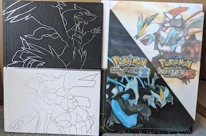 Pokemon Black & White Collector's Edition Strategy Guide & Pokedex, and Black 2 & White 2 Collector's Edition Strategy Guide Bundle