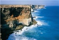 Cliff and sea colours dazzle on the Great Aust Bight