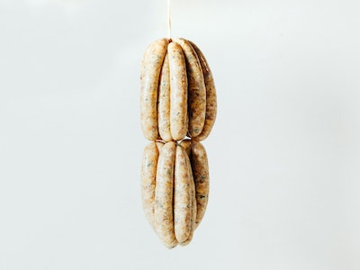 Chicken and green peppercorn sausages, 4PC