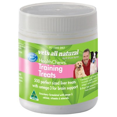 Vets All Natural Health Chews Training Pet Dog Treats 275g