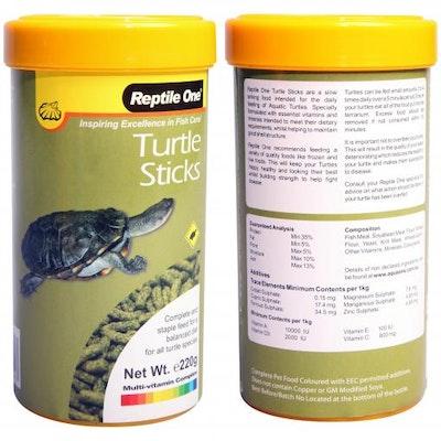 Reptile One Turtle Stick 220g