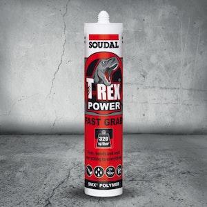 Soudal T Rex Fast Grab Black 290ml