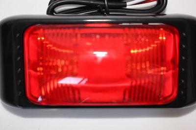 Red Side Marker LED Multivolt Large Size