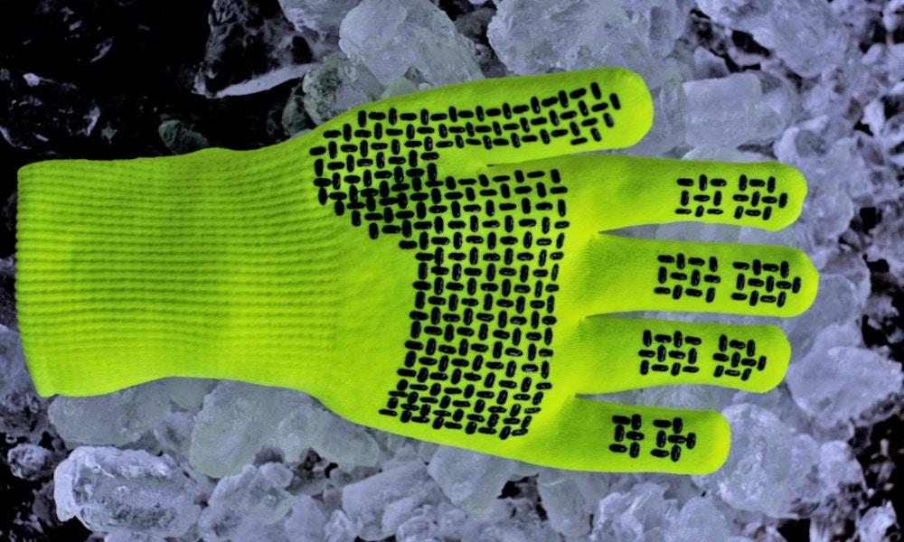SealSkinz Ultra Grip Hi Vis Gloves