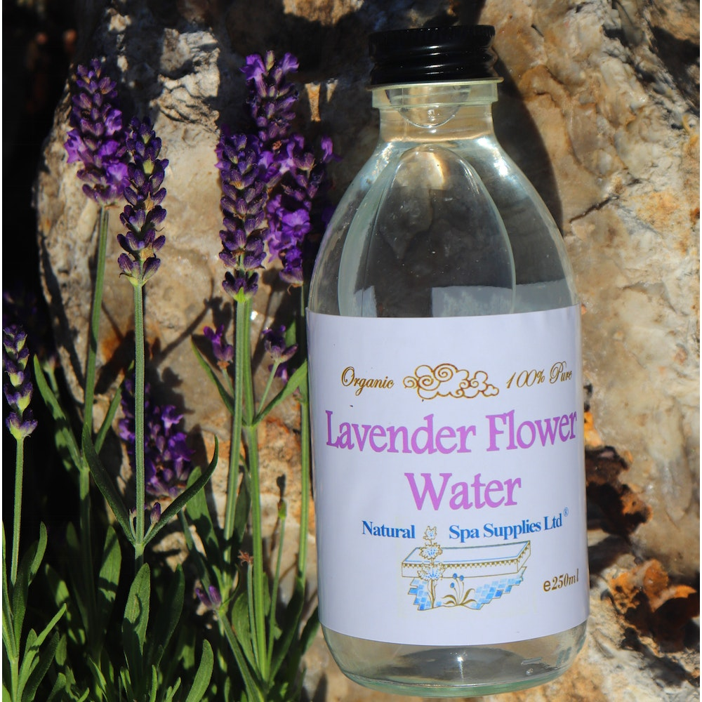 Natural Spa Supplies Lavender Water, 100% Pure And Organic Ingredients