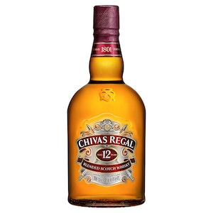Chivas Regal 12 Year Old Blended Scotch Whisky 1L