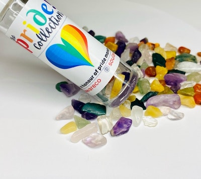 Soul Aware Botanics UPLIFTING BLEND: Pride Collection Blend with Mixed Crystals *Limited Edition* 2021