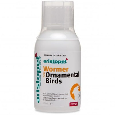 Aristopet Worming Syrup for Ornamental Birds