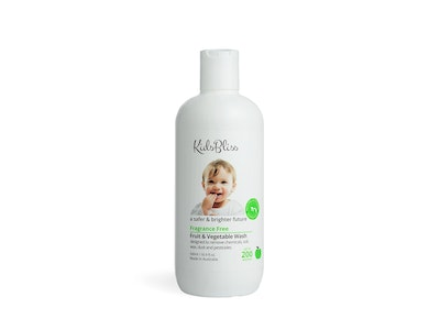 KidsBliss Fruit & Vegetable Wash - Fragrance Free 500ml