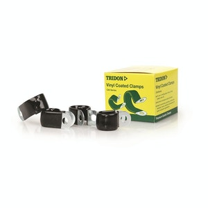 Tridon Vinyl Coated Hose & Cable Clamp 13mm Dia 20mm Band 10mm Hole 10pk