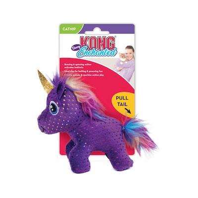 KONG Cat Enchantede Buzzy Unicorn