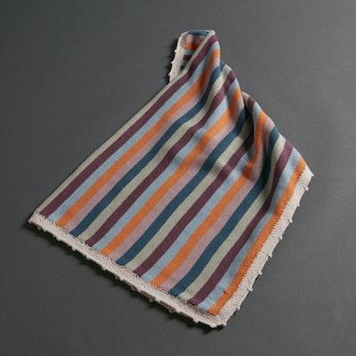 Global Sisters Shop Organic Stripey Baby Blanket