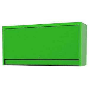 "Top Hutch Wide Power Shelf Pegboard Light 73"" USA Sumo Series GREEN/BLACK SP44830G"