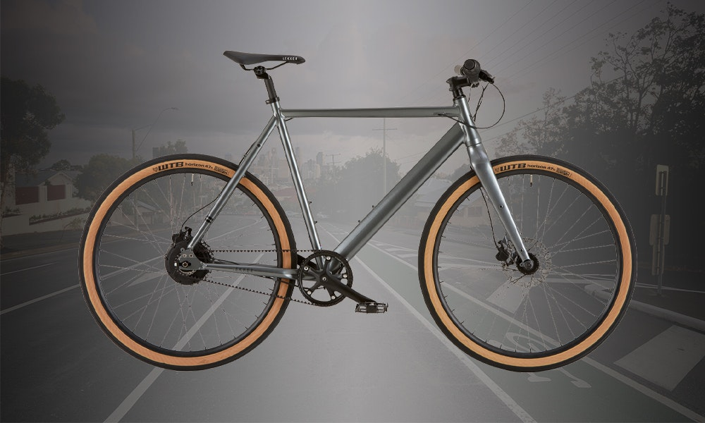 Single speed belt drive bicycle