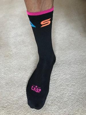 Casp Performance Cycling Santa Monica Black Socks