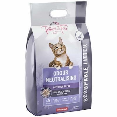 Trouble N Trix Trouble & Trix Lavender Scented Clumping Cat Litter