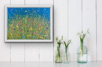 Fiona Adams Artwork Full of Joy - Original painting