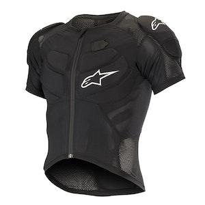 Alpinestars Vector Tech Protection Jacket Short Sleeve Rp Black