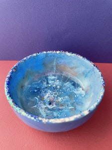 Into the Shallows Resin Trinket Dish