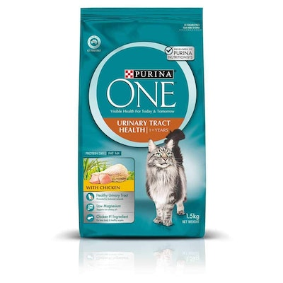 Purina One Urinary Tract Health Dry Cat Food 1.5kg