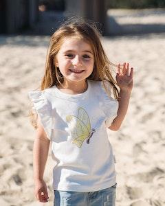 Certified Organic Cotton Butterfly T-Shirt