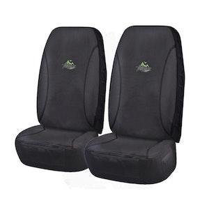 Universal Trailblazer Front Seat Covers Size 60/25 - Black