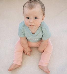 Toe Cover Harem Pants - Blush Pink