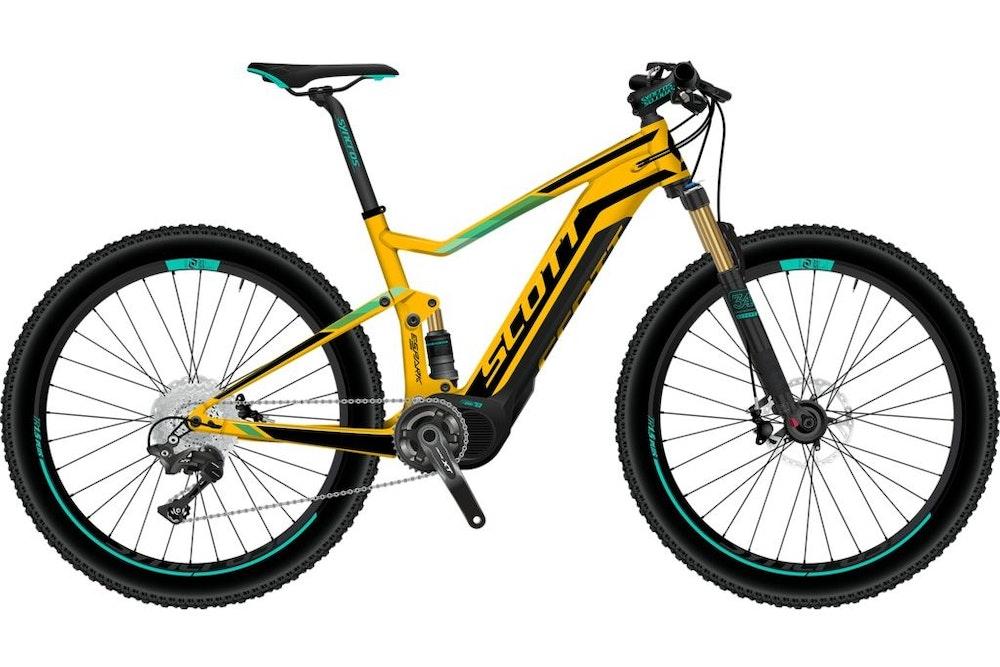 scott mountainbikes 2017 e mtb bikeexchange. Black Bedroom Furniture Sets. Home Design Ideas