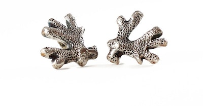 Robyn Heritage Jewellery Gracie. Coral Design Stud Earring 2021