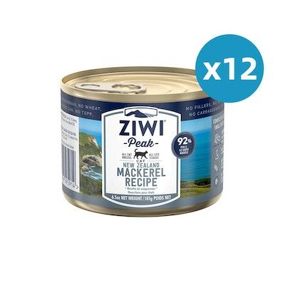 ZiwiPeak ZIWI Peak Cat Mackerel Recipe Can 185G X 12