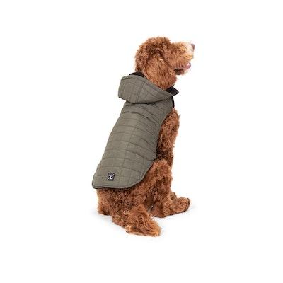 Mog & Bone Waterproof Dog Puffer Jackets Green - 6 Sizes