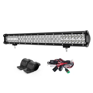 LIGHTFOX LIGHTFOX 26 Inch LED Light Bar with Bullbar Mounting Bracket