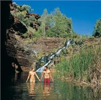 Fortescue Falls Karijini National Park WA