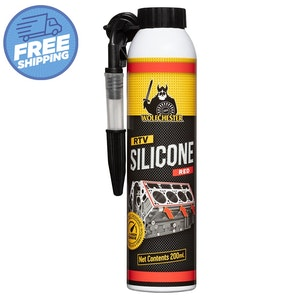 Wolfchester Red Hi-Temp RTV Silicone 200ml