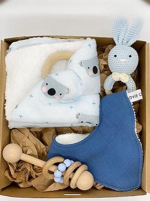 Avie Designs Newborn Baby Gift Box, Blue