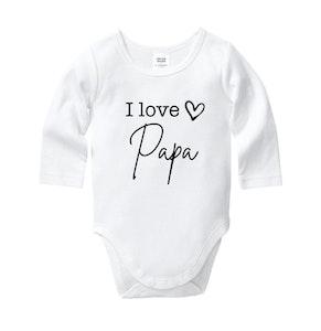 I Love Papa Onesie