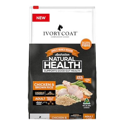 IVORY COAT Adult Small Breed Dry Dog Food Chicken & Brown Rice - 2 Sizes