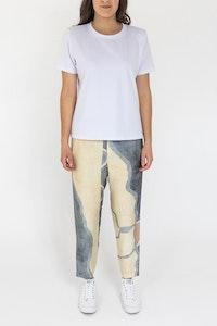 ngali Lena Silk Pants - Common Ground 5 - Low Inventory