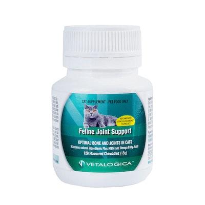 Vetalogica Feline Joint Support Cat Supplement 120 Pack