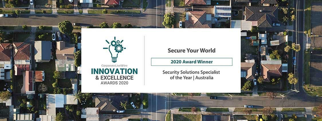 Australian winner in the Innovation and Excellence Awards 2020